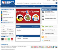septa website